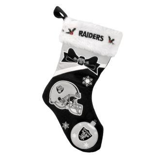 Oakland Raiders Polyester Christmas Stocking