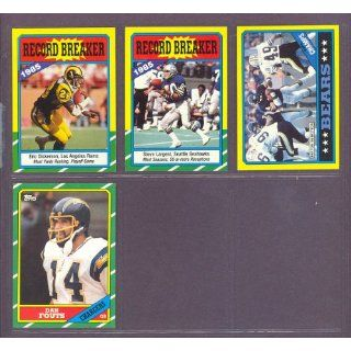1986 Topps #231 Dan Fouts Chargers (Mint): Collectibles