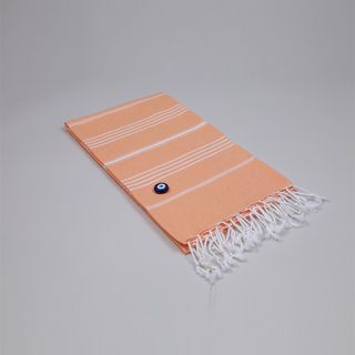 Authentic Fouta Melon Orange Turkish Cotton Towel