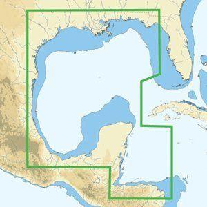 C MAP NA C402 C CARD FORMAT PENSACOLA BAY GULF HONDURAS