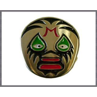 Mil Mascara Belt Buckle Lucha Libre Mexican Wrestling