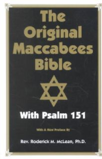 Original Maccabees Bible With Psalm 151 (Paperback)