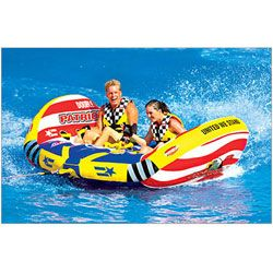 Patriot Two seat Inflatable Tow able Tube