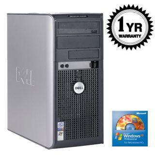 Dell OptiPlex GX620 3.2GHz 2GB 80GB XP Pro Tower Desktop Computer