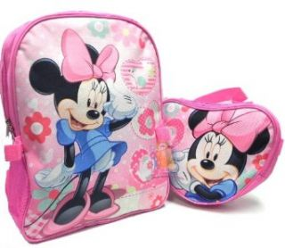 Disney Minnie Mouse Backpack and detachable Lunch Kit