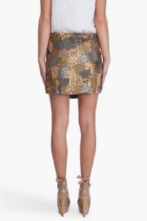 Haute Hippie Camo Iconic Miniskirt for women