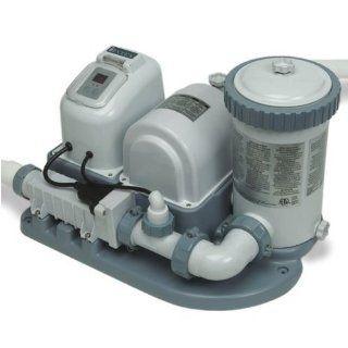 NEW INTEX Pool 2000 GPH Saltwater System & Filter Pump