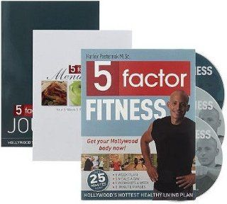 5 Factor Fitness (3 DVD Set & Meal Plan) Harley Pasternak