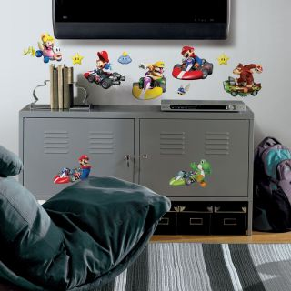 RoomMates Nintendo Mario Kart Peel and Stick Wall Decals Today $16.49