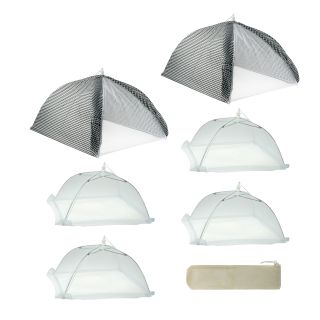 Mr. BBQ Cabana Style 7 piece Food Tent Kit Today $33.49 Sale $30.14