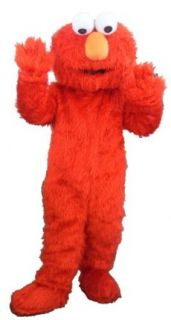 Red hair monster Cartoon Character Costume: Toys & Games