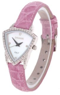 Lancaster Womans Pink Venere Diamond Watch
