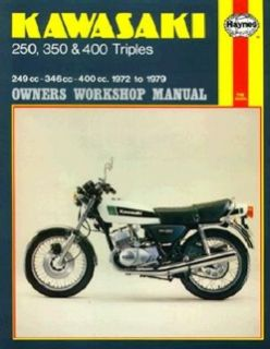 Kawasaki 250, 350, and 400 3 Cylinder Models 1972 1979