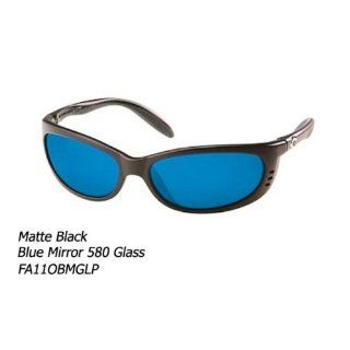 Costa Del Mar Fathom Polarized Sunglasses, Black, Blue