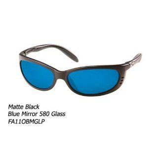 Costa Del Mar Fathom Polarized Sunglasses, Black, Blue