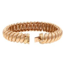18k Rose Gold San Marco Estate Bracelet