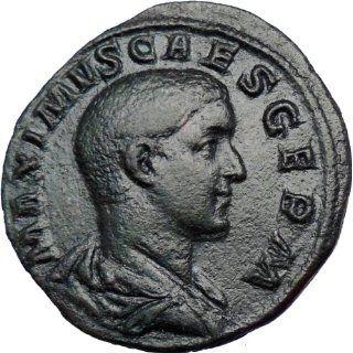 Maximus   Caesar under Maximinus 236AD Huge Very rare Ancient Roman