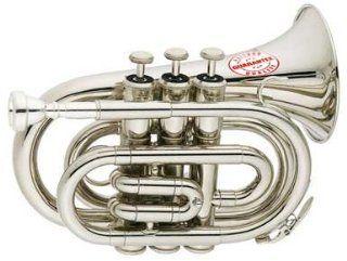 Rossetti Pocket Trumpet Nickel Silver, ROS1147 Musical