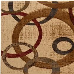 Hand carved Artistic Weavers Multicolored Paloe Rug (710 x 103
