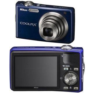 Nikon Coolpix S630 12MP Blue Digital Camera (Refurbished)