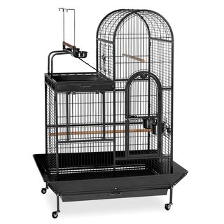 Prevue Pet Products Wrought iron Black Double roof Play top Bird Cage