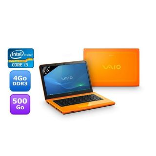 Sony Vaio VPC CA2S1E orange   Achat / Vente ORDINATEUR PORTABLE Sony