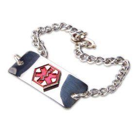 Medical Emergency Bracelet   High Blood Pressure By Apex