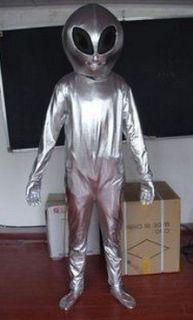 Et Alien Mascot Costume Fancy Dress Suit: Sports