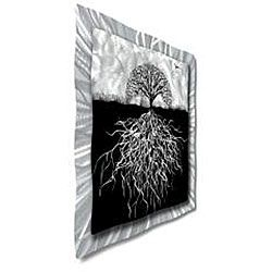 Ash Carl Rooted Abstract Metal Wall Art