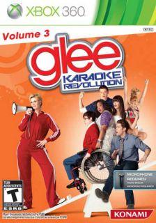 Xbox 360   Karaoke Glee Vol. 3