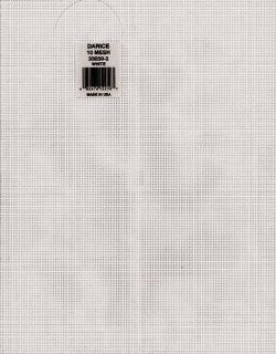 Plastic Canvas 10 Count White 10 1/2 x 13 1/2 (12 pack