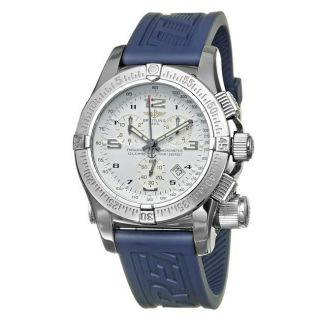 Breitling Mens Emergency Mission Stainless Steel Quartz Watch