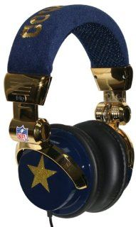 iHip NFL Limited Edition DJ Headphones   Dallas Cowboys