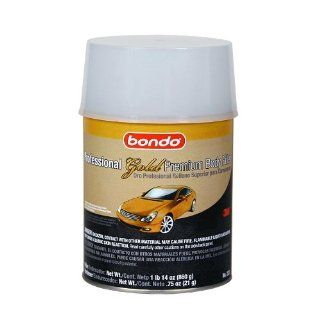 Bondo 233 Professional Gold Filler Quart Can   14 oz.