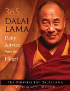 365 Dalai Lama Daily Advice from the Heart (Paperback) Today $12.55