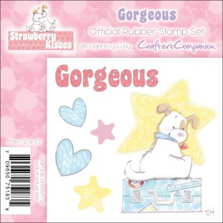 Crafters Companion Strawberry Kisses Gorgeous EZMount Cling Stamp