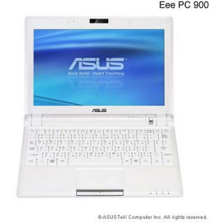 Asus Eee PC 900 16G Pearl White Laptop