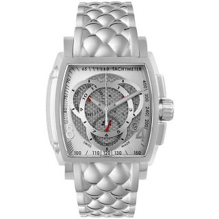 Invicta S1 Mens Stainless Steel Chronograph Watch