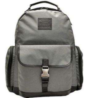 Coach Voyager Nylon Backpack Laptop Travel Bag 70574 Grey