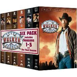 Walker Texas Ranger   6 Pack   Multi Disc Set (DVD)