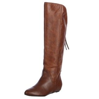 Steven Womens P Lass Cognac Knee high Boots