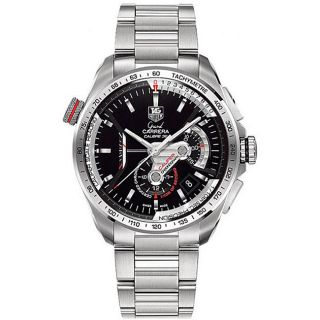 Tag Heuer Mens Grand Carrera Automatic Chronograph Watch