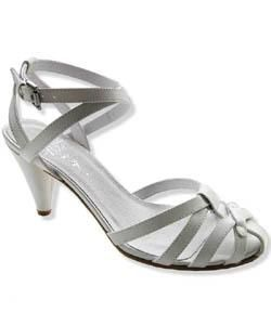 Diesel Womens Missy White Strappy Sandals