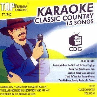 Top Tunes Karaoke CD+G Classic Country Vol. 6 TT 242
