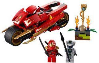 Lego Ninjago Kais Blade Cycle   9441 Toys & Games