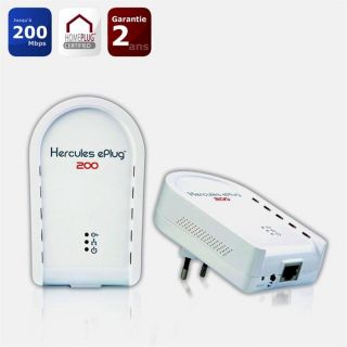 Hercules ePlug™ 200 Duo (200 Mbits/s)   Achat / Vente COURANT