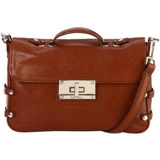 Calvin Klein Tribeca Leather Satchel