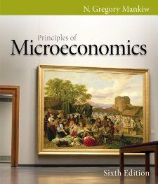 Bundle: Principles of Microeconomics, 6th + Aplia Printed Access Card