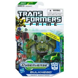 Transformers Cyberverse Action Figure with DVD   Bulkhead