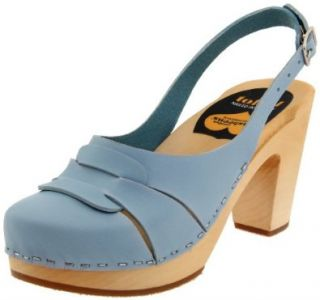 Womens 312 Sling Back Sandal, Baby Blue, 36 M EU/6 M US Shoes